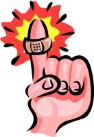 0 finger