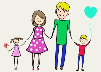happy family clipart Elegant Happy Family Clip Art
