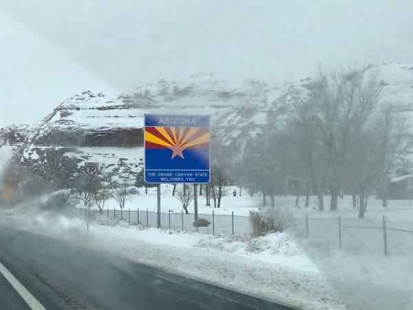 0 AZ snow