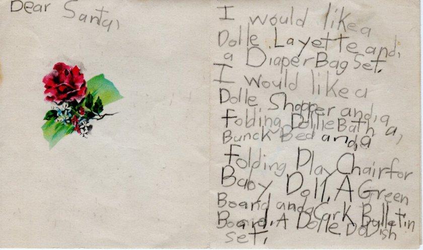 1956 Chrismas Letter A