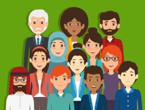diversity people concept